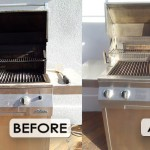 Solair grill cleaning