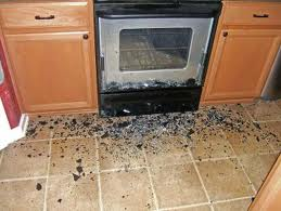exploding oven door glass