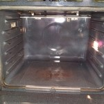 KitchenAid Double Oven Interior After Cleaning