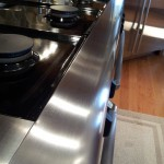Dacor Range scratch removal - After