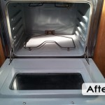 Whirlpool oven cleaning_interior after