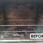 Whirlpool oven cleaning_interior before cleaning